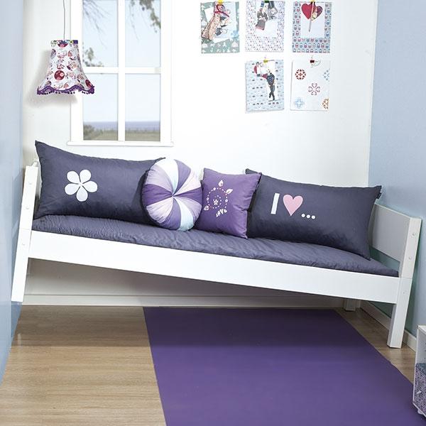 manis h kinderbett wei 90 x 200 cm. Black Bedroom Furniture Sets. Home Design Ideas