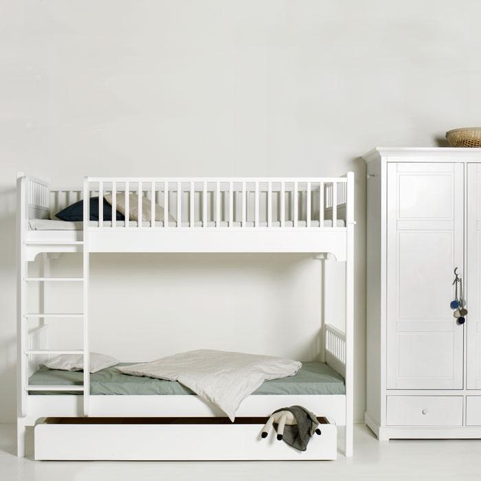 oliver furniture etagenbett hochbett gerade leiter. Black Bedroom Furniture Sets. Home Design Ideas