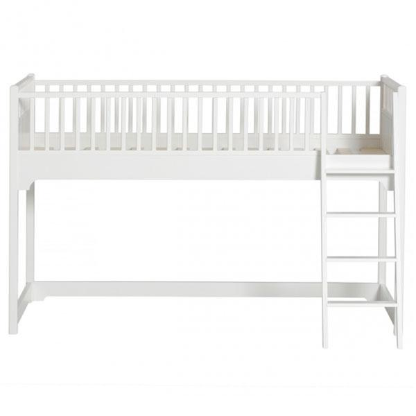 halbhohes hochbett im landhausstil von oliver furniture mit oder ohne vorhang - Oliver Furniture Hochbett