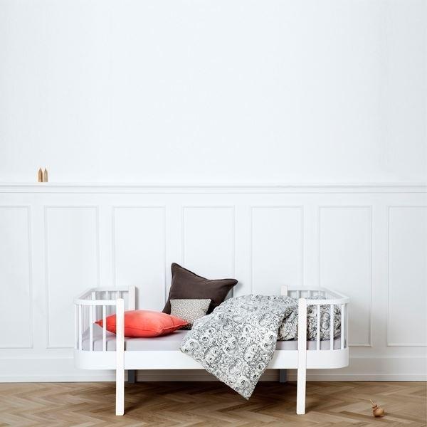 Oliver furniture kinderbett wood 90 x 160 cmwei for Kinderbett landhausstil