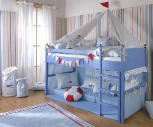 annette frank spielbett boot im kinder online shop gutesbuybonn kaufen. Black Bedroom Furniture Sets. Home Design Ideas