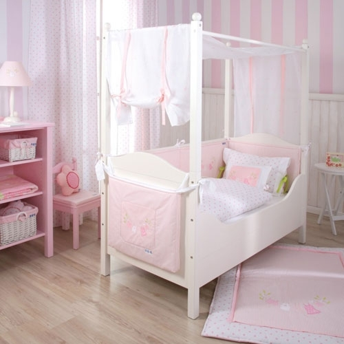 kinderzimmer tapete rosa gestreift bibkunstschuur. Black Bedroom Furniture Sets. Home Design Ideas