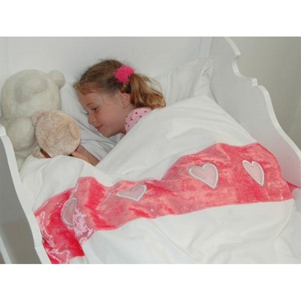 bettw sche mit rosa samtigem herzband online kaufen bei. Black Bedroom Furniture Sets. Home Design Ideas