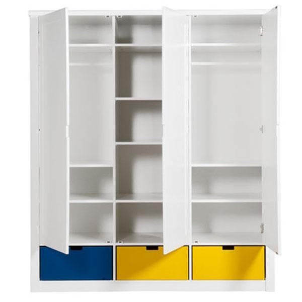 Kindermöbel schrank  Bopita Mix & Match Schrank Luxe 3 Türen - Kinderzimmerhaus