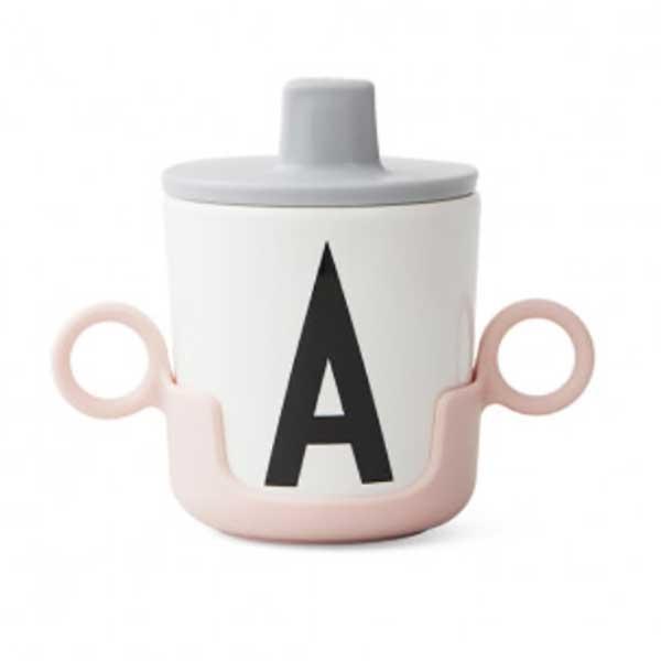 design letters halter f r trinkbecher pink kinderzimmerhaus. Black Bedroom Furniture Sets. Home Design Ideas