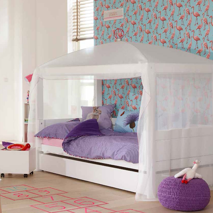 kinderbett f r zweij hrige sicher umbaubar mitwachsend. Black Bedroom Furniture Sets. Home Design Ideas