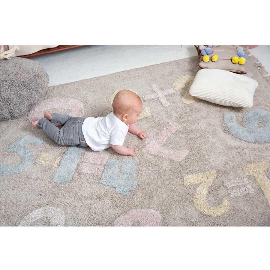 Beeindruckend Teppich Babyzimmer Foto Von Bei 30° Waschbarer Kinderteppich