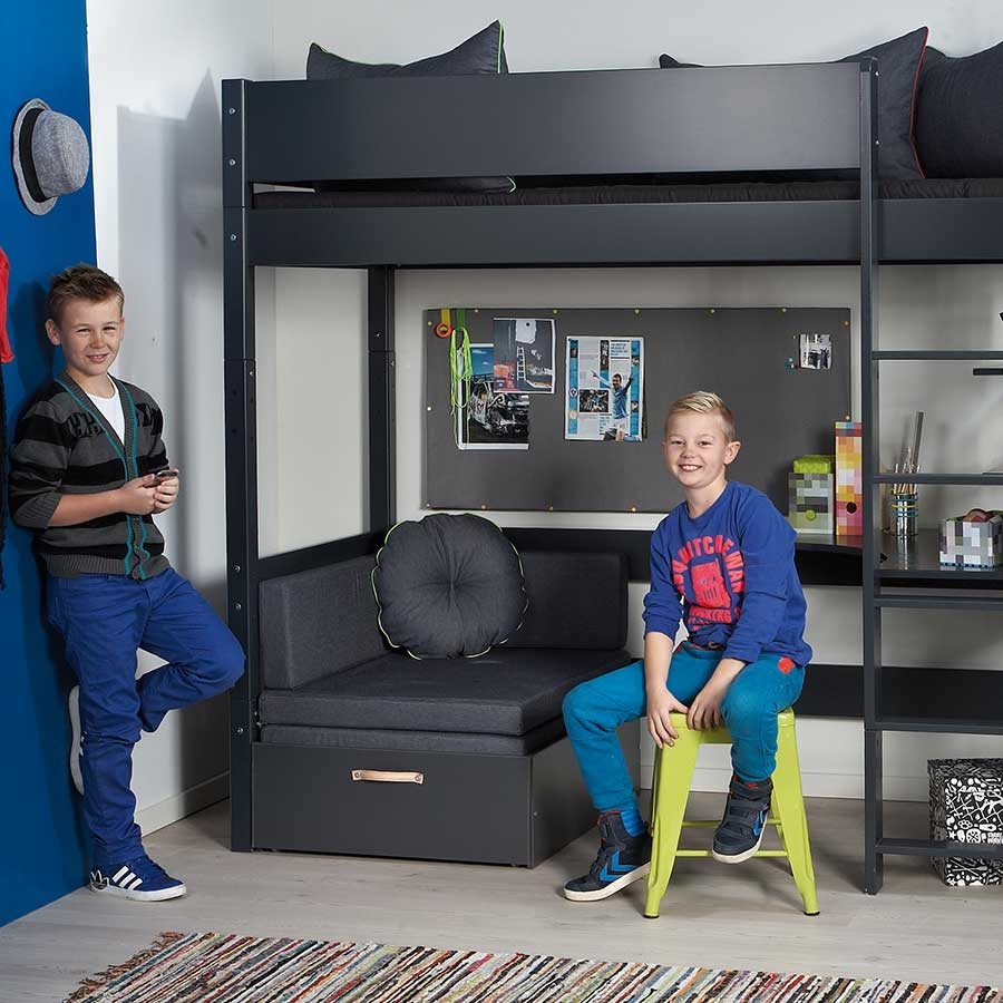 manis h hochbett 193 cm kinderzimmerhaus. Black Bedroom Furniture Sets. Home Design Ideas