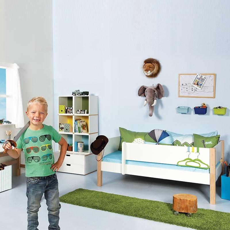 Manis-h Kinderbett Odin Weiß - 90 x 200 cm