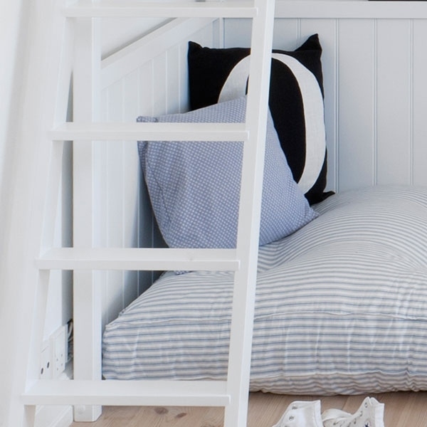 pin oliver furniture bett hochbett wood collection wei. Black Bedroom Furniture Sets. Home Design Ideas