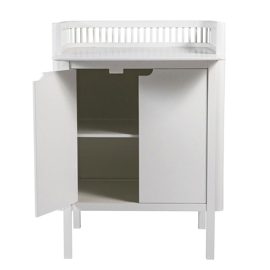 sebra 2in1 wickelkommode wei kinderzimmerhaus. Black Bedroom Furniture Sets. Home Design Ideas