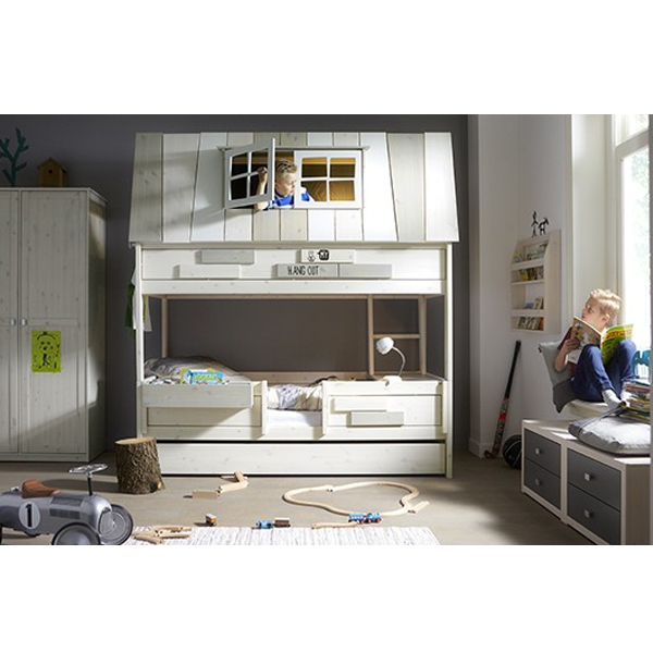 lifetime abenteuer spielbett hangout kinderbett. Black Bedroom Furniture Sets. Home Design Ideas