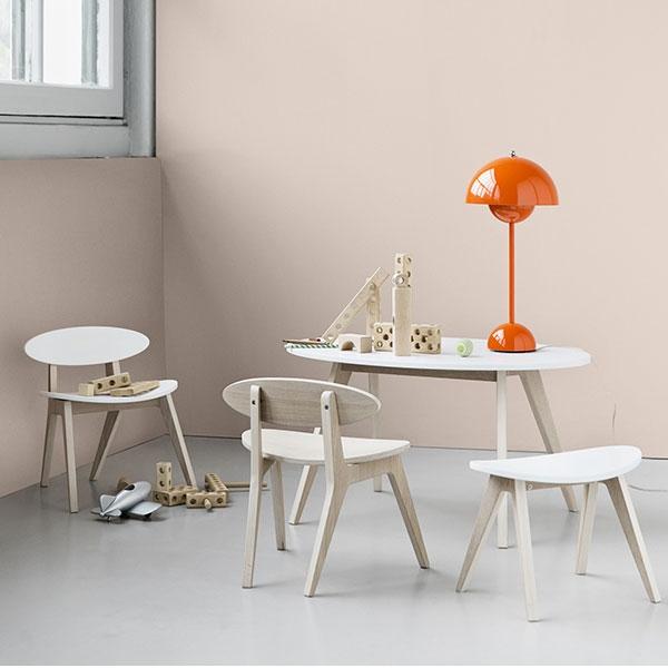 Oliver furniture kinderstuhl ping pong eiche und wei - Kinderstuhl design ...