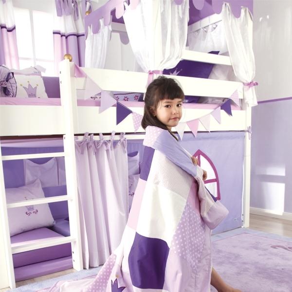 annette frank spielbett krone im kinder online shop kaufen. Black Bedroom Furniture Sets. Home Design Ideas
