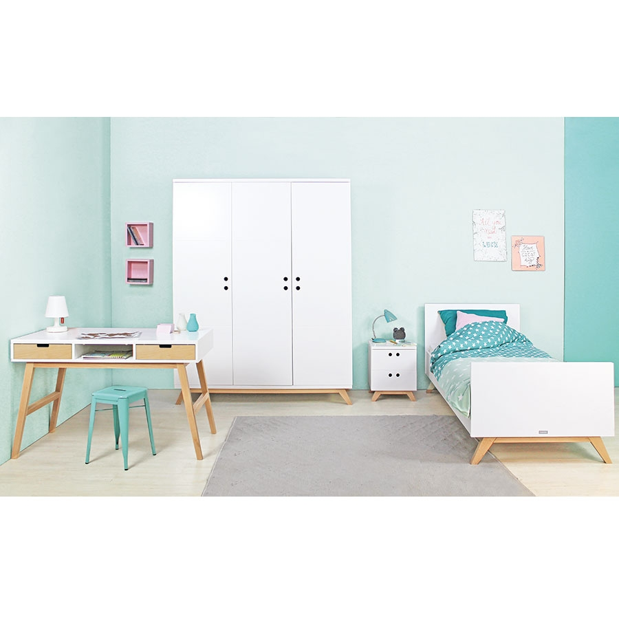 bopita kinderbett lynn 90 x 200 kinderzimmerhaus. Black Bedroom Furniture Sets. Home Design Ideas
