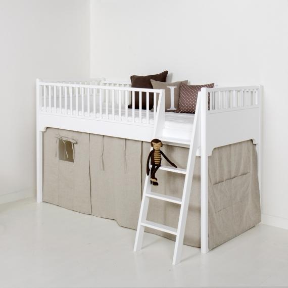 oliver furniture hochbett f r kinder halbhohes hochbett. Black Bedroom Furniture Sets. Home Design Ideas