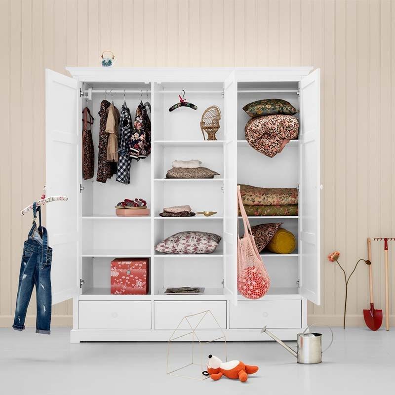 Oliver Furniture Kinderkleiderschrank mit 3 Türen